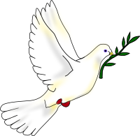 200px-Peace_dove.svg